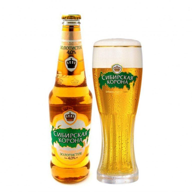 картинки сибирская корона пиво проверке